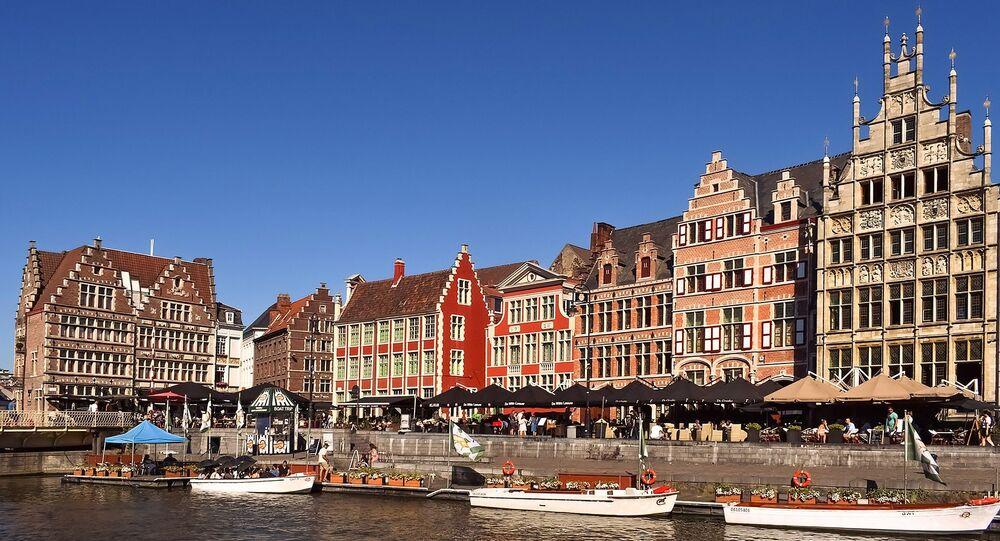 Un canal en Belgique