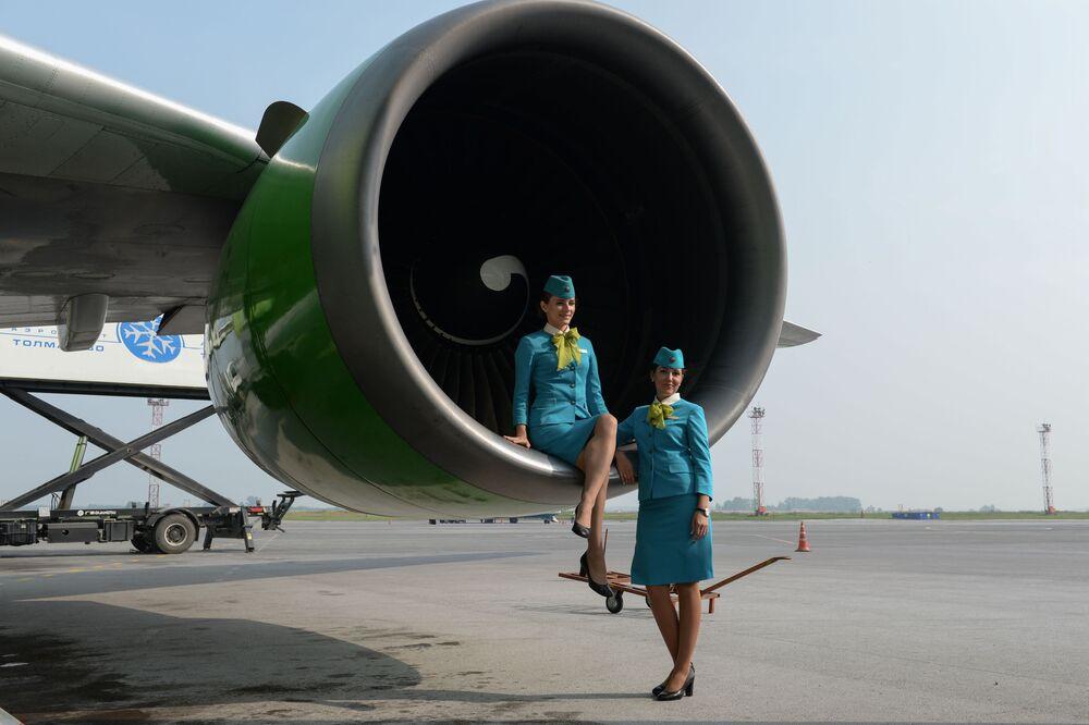 Beautés à bord: les hôtesses de l'air russes et soviétiques