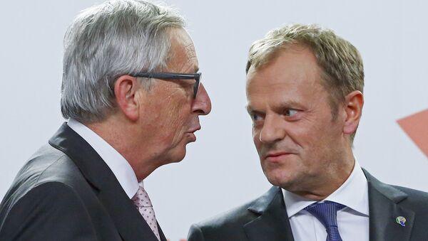Jean-Claude Juncker et Donald Tusk (image d'illustration) - Sputnik France