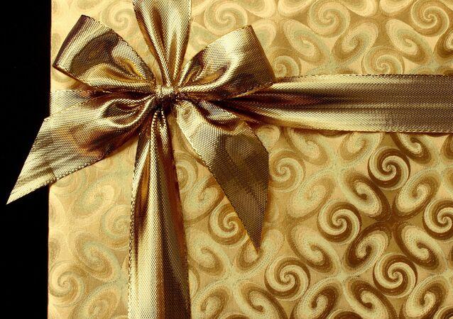 Une boîte cadeau