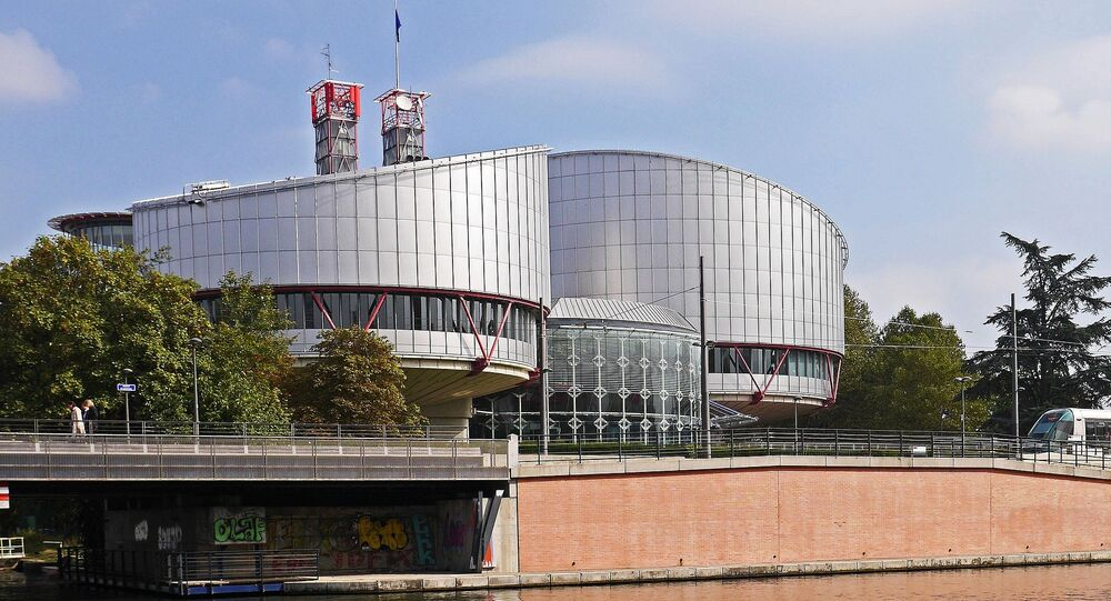 Cour européenne des droits de l'Homme à Strasbourg