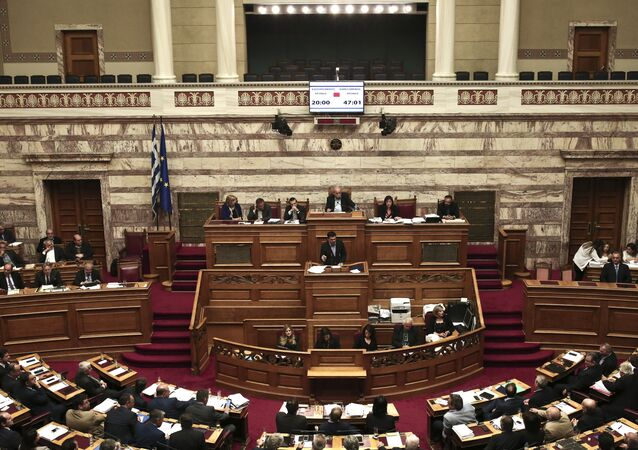 Parlement grec (archive photo)