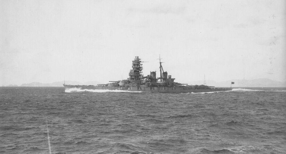 Le navire Hiei