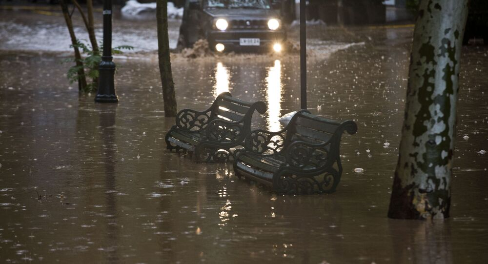 Inondations au Chili (archives)