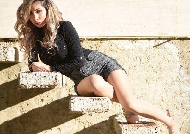 Dana Nasri, actrice de cinéma syrienne