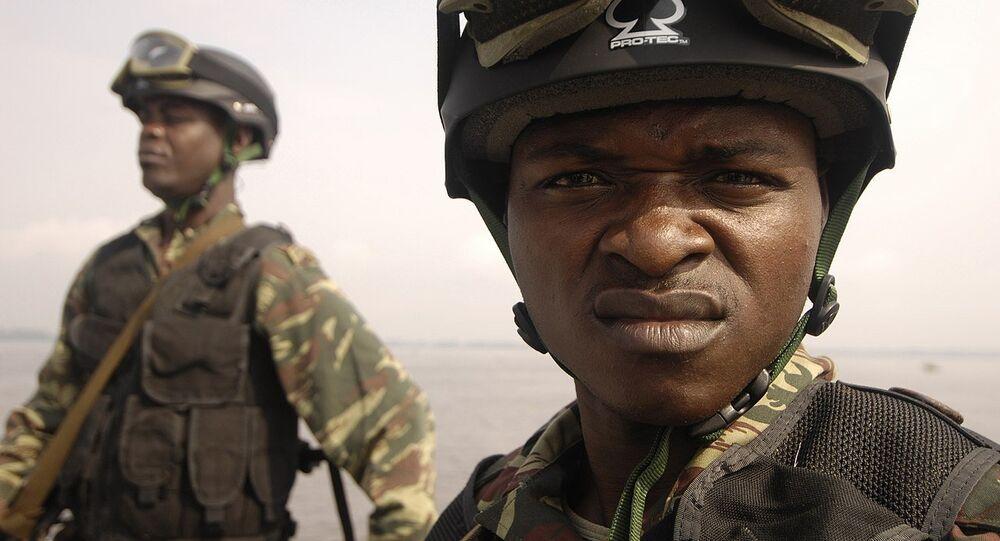 Des militaires camerounais