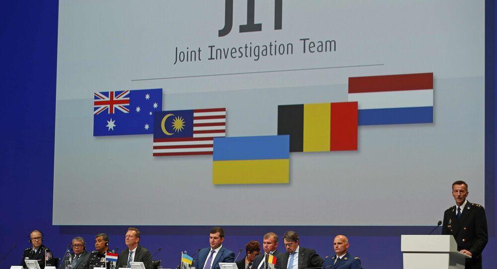 Joint Investigation Team (JIT) sur le crash du Boeing MH17 en Ukraine