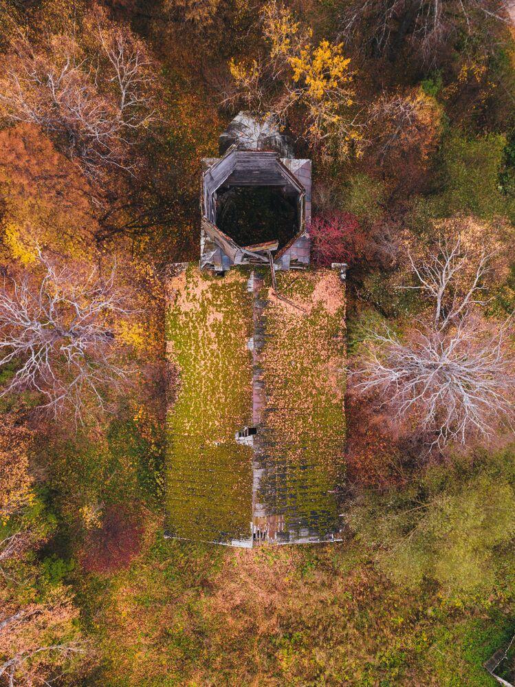Les lieux abandonnés de différents pays