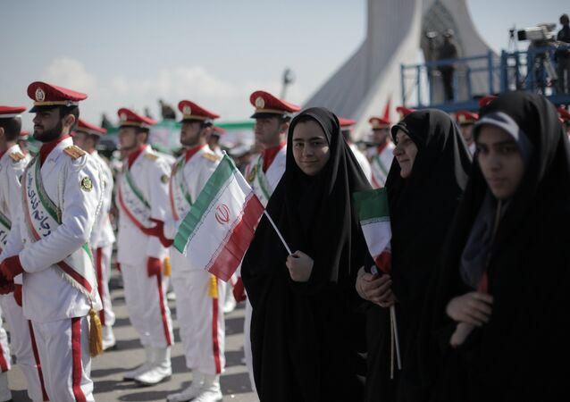 Des gardiens de la révolution islamique