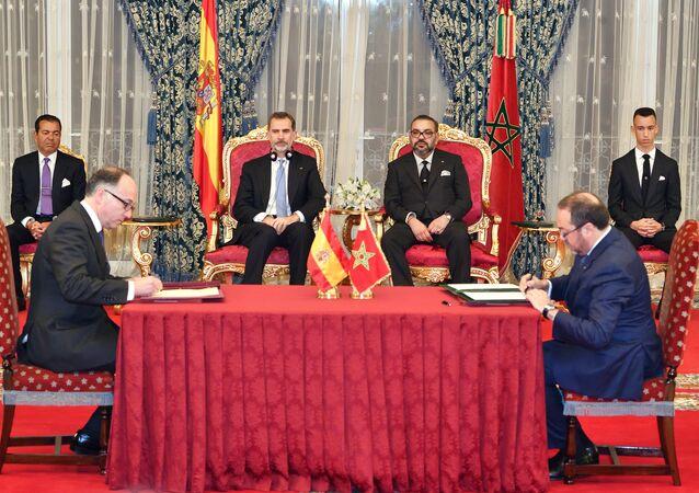 Le roi d'Espagne Felipe VI au Maroc