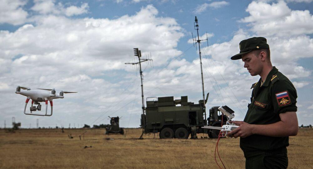 Un exercice russe de guerre électronique (archive photo)