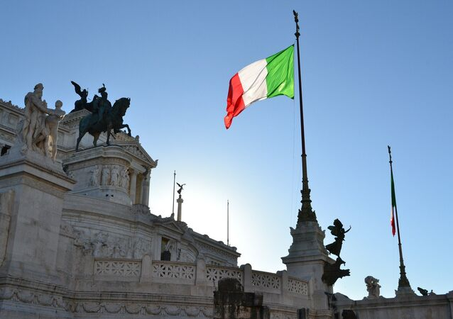 Le drapeau de l'Italie