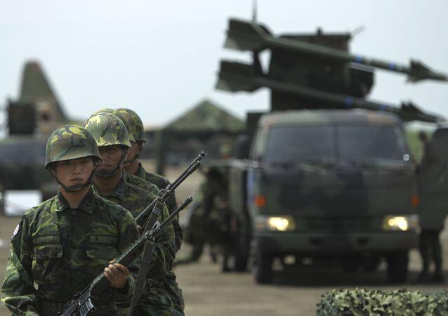 Militaires taïwanais