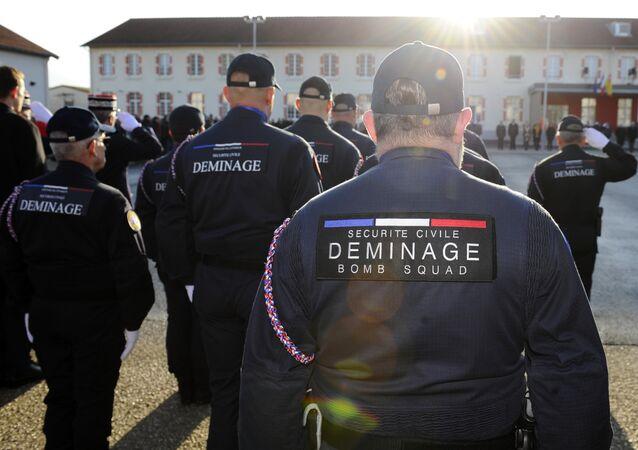 Démineurs de la Sécurité civile