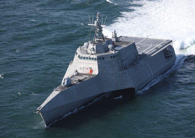 L'USS Tulsa de la classe Independence