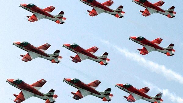 Indian Air Force pilots of the Surya Kiran Aerobatic Team (SKAT) - Sputnik France