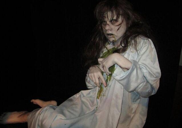 Full-size Exorcist re-creation