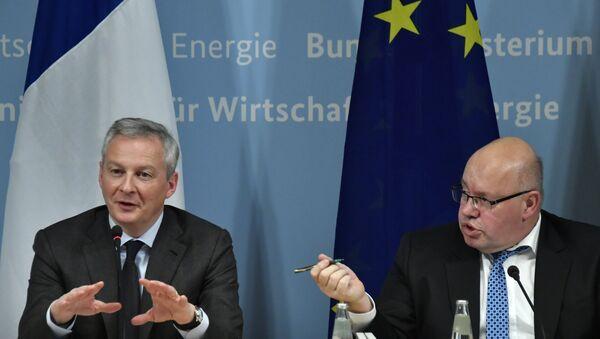 Bruno Le Maire et Peter Altmaier (image d'archive) - Sputnik France