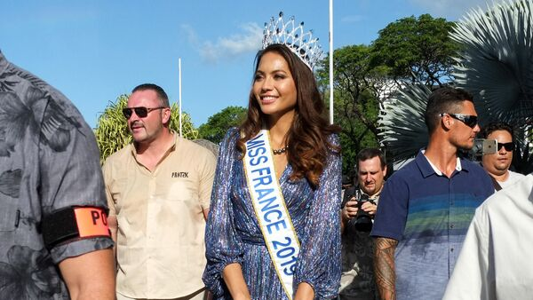 Vaimalama Chaves, Miss France 2019 - Sputnik France