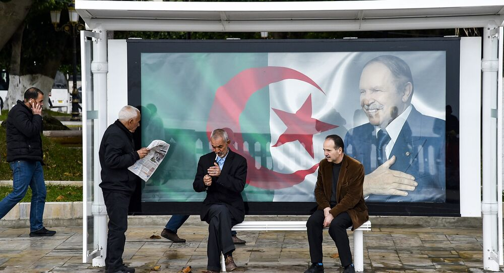Portrait d'Abdelaziz Bouteflika