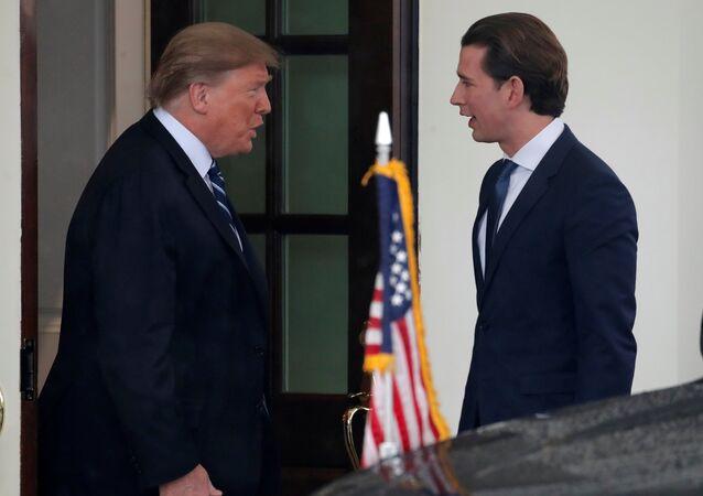 Donald Trump et Sebastian Kurz