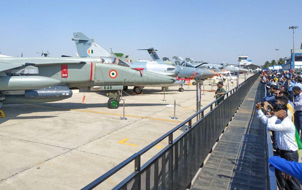L'ouverture du Salon aéronautique Aero India 2019