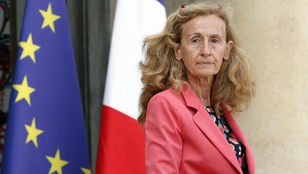 la garde des Sceaux Nicole Belloubet  - Sputnik France