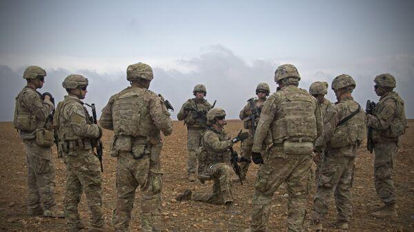Militaires US à Manbij, en Syrie - Sputnik France