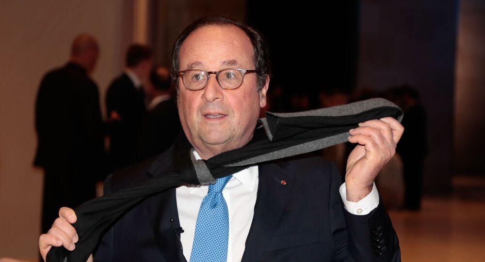 Francois Hollande au Dîner du CRIF 2019