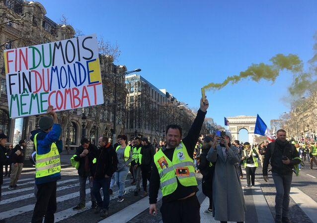 L'acte 15 des Gilets jaunes à Paris (image d'illustration)