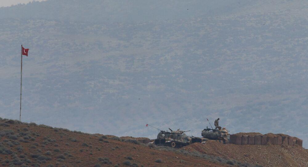 Près de la frontière syro-turque