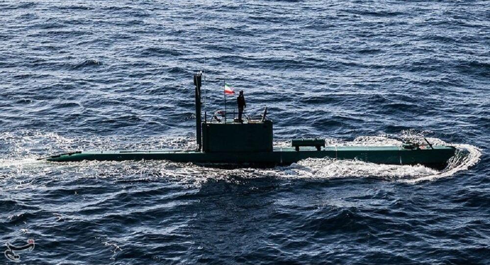 Un sous-marin iranien de classe Ghadir