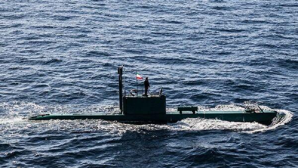 Un sous-marin iranien de classe Ghadir - Sputnik France