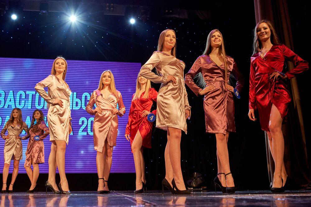 Le concours de beauté Belle de Sébastopol 2019