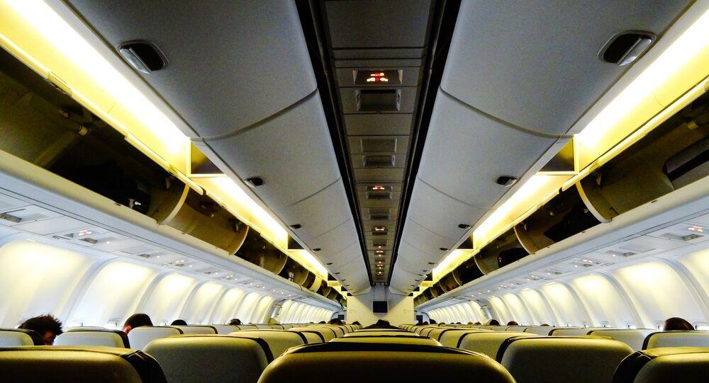 Cabine d'un avion