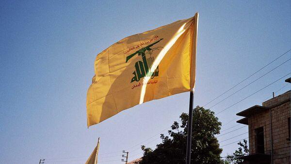 Drapeau du Hezbollah - Sputnik France