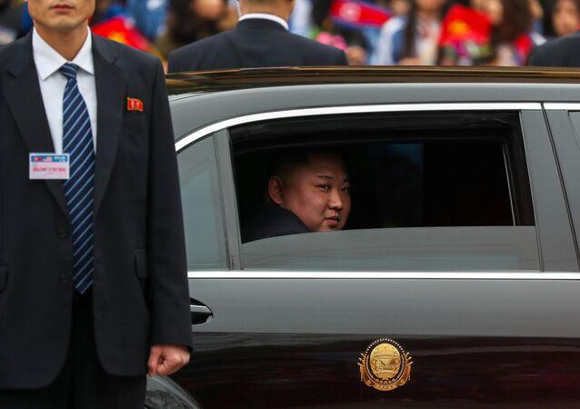 Kim Jong-un est arrivé au Vietnam pour s'entretenir avec Donald Trump