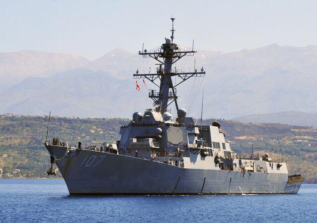Le destroyer USS Gravely (DDG 107)