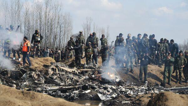 crash dun avion des Forces aériennes indiennes - Sputnik France