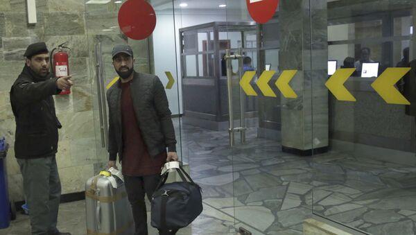 Un demandeur d'asile expulsé d'Allemagne à l'aéroport de Kaboul (image d'archive) - Sputnik France