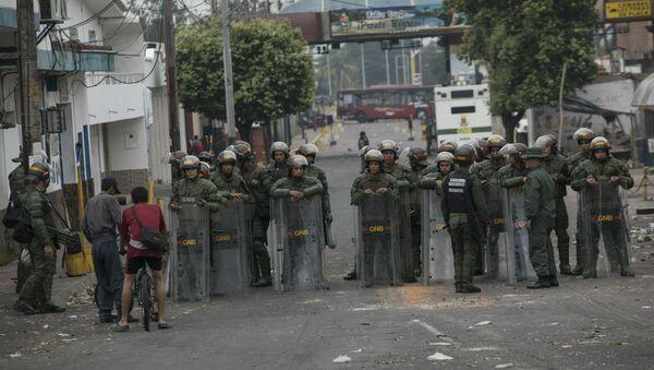 Situation à la frontière entre le Venezuela et la Colombie - Sputnik France