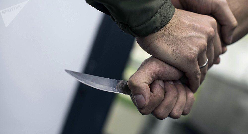 Une attaque au couteau (image d'illustration)