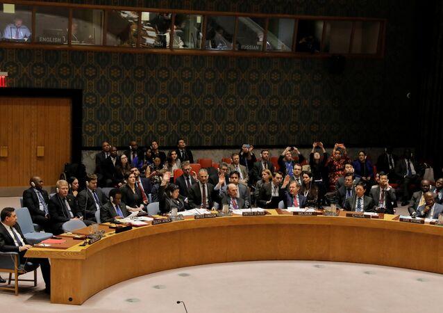 La réunion du Conseil de sécurité de l'Onu