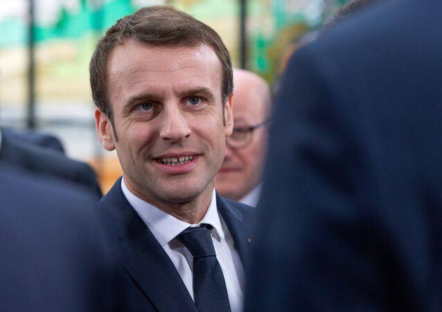 Emmanuel Macron à Bordeaux