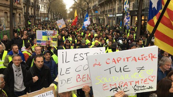 Acte 16 des Gilets jaunes, le 2 mars / - Sputnik France
