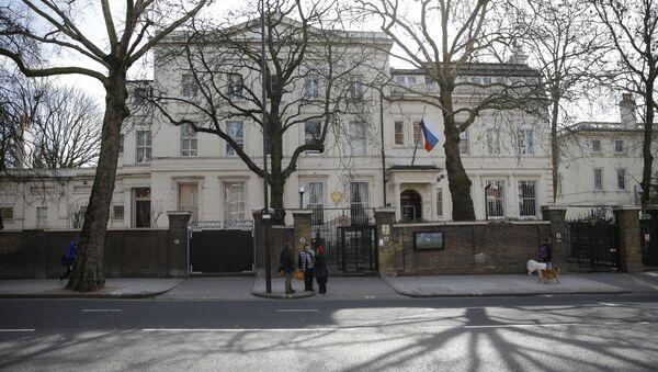 Ambassade de Russie à Londres - Sputnik France