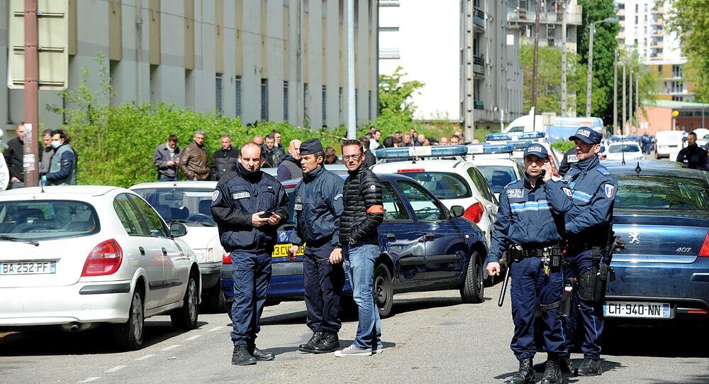 Policiers à Grenoble. Image d'illustration