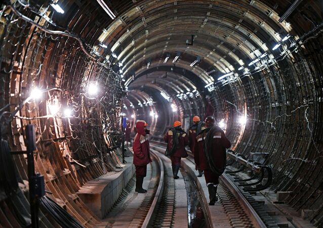 Un tunnel de métro