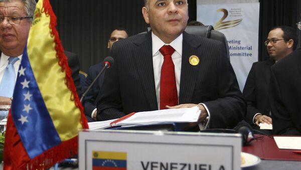Manuel Quevedo, ministro de Petróleo de Venezuela - Sputnik France