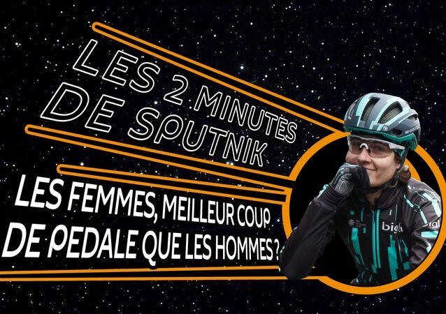 2 minutes de Sputnik : les femmes meilleur coup de pédale que les hommes
